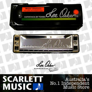 Lee Oskar 1910C ( Key of C ) Major Diatonic 1910-C Harmonica Blues Harp w/ Case