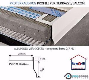 Profilo Terrazze E Balconi Alluminio Verniciato Proterrace Pcg