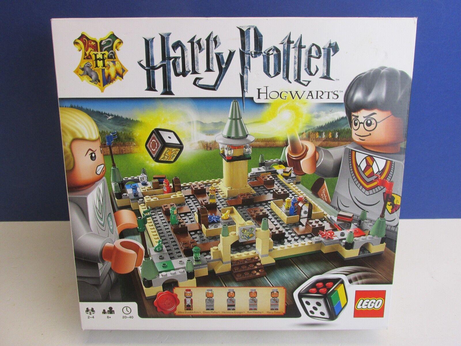 COMPLETA LEGO 3862 Harry Potter Hogwarts School Board Game Set RARO H63