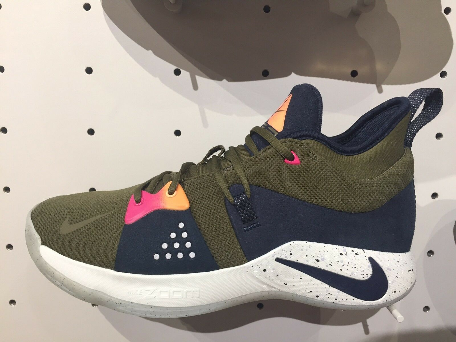 Nike pg 2 ep paul george acg inspiriert olive obsidian sz - 8 - 13 neue ao2984-300 ds