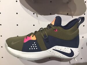 online store 87e70 23312 Details about Nike PG 2 EP Paul George ACG Inspired Olive Obsidian Sz 8-13  NEW AO2984-300 DS