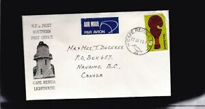 NEW ZEALAND COVER MOST NORTHERN POST OFFICE - CAPE REINGA LIGHTHOUSE