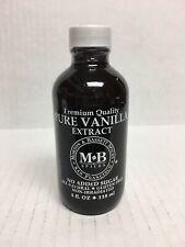 Morton & Bassett Pure Vanilla Extract 4oz. New/Sealed