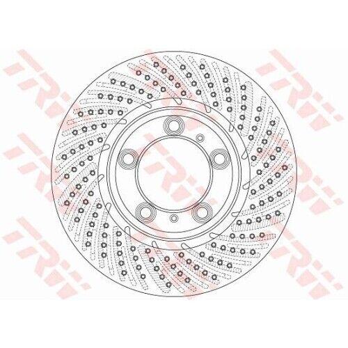 df6267s Disque de frein frein NEUF TRW