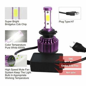 H7-LED-anti-erreur-Ampoule-200W-6500K-Voiture-Feux-Phare-Lampe-HID-Xenon-Blanc