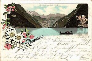 CPA-AK-Gruss-vom-Konigsee-GERMANY-879403