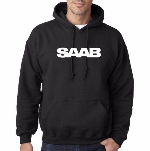 Saab Hooded Sweatshirt Scandinavian Design Scania Aero 93 900s car parts