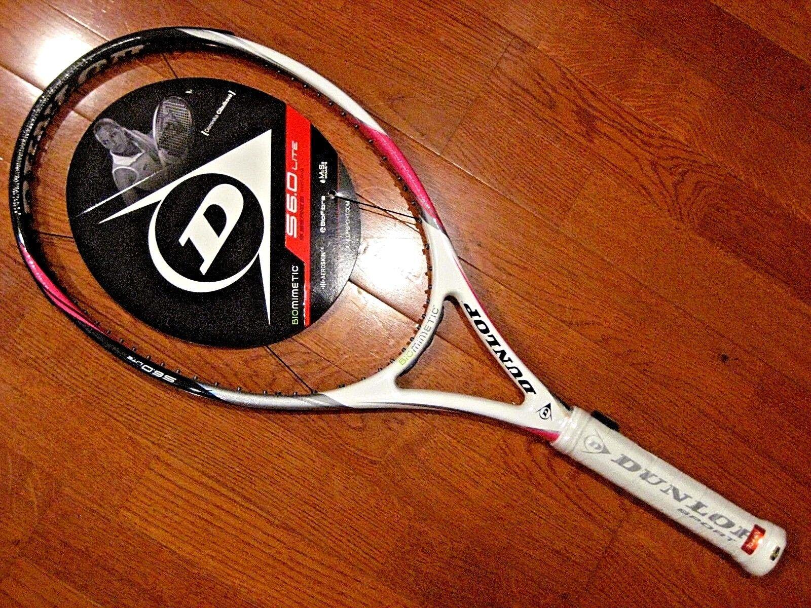 Dunlop Biomimetic S6.0 Lite rosa Tennis Racquet - (Brand Nuovo!) Nuovo!) Nuovo!) 3894e4