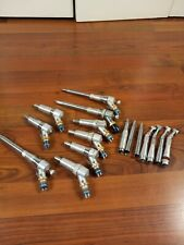 Lot Of 16 Dental Handpiece Midwest Shorty Motor Two Speed Contra Untested