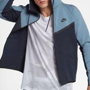 Détails sur Nike Sportswear Tech Fleece Coursevent Men's Sweat à capuche taille XL afficher le titre d'origine