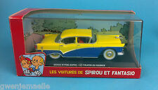 SPIROU & FANTASIO VOITURE QUICK HYPER-SUPER  N°16 1/43 no tintin car