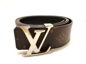 Auth-Louis-Vuitton-ceinture-LV-Monogram-M9821-monograma-lienzo-inicial-de-40MM