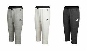 Adidas Women S Cotton Fleece 3 4 Pants Ax7577 Az9524 Yoga Training