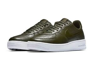 various colors 75c6f 39bdc Details about NIKE AIR FORCE 1 ULTRAFORCE LOW SNEAKER MEN SHOES SEQUOIA  818735-300 SIZE 10 NEW