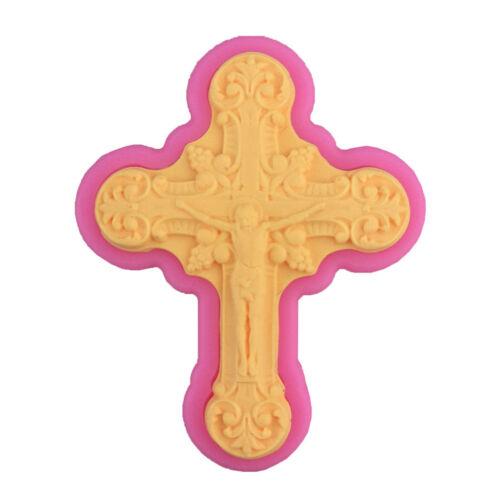 DIY 3D Kuchen Dekoration Crown Bowknot Geformt Zucker Kuchen Silikonform KunR.PF