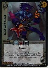 UFS CCG Darkstalkers God of Metal Foil promo MINT