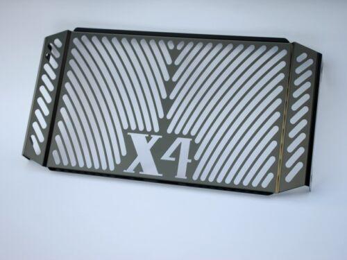 Honda X 4//x-4 Refroidisseur Couvercle Black 5165