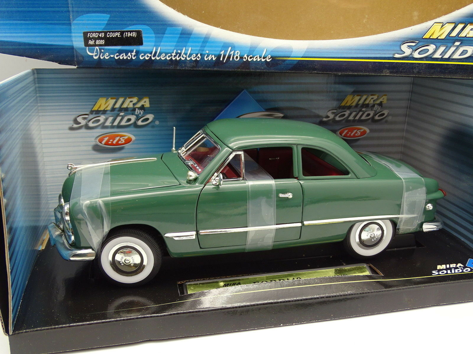 Solido Mira 1 18 - Ford 1949 Coupe Verte