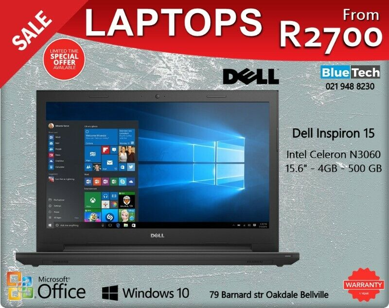 Laptops Sale | From R2700 | Latest Core 6th Generation Processor.