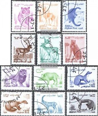 Afghanistan 1823-1834 Gestempelt 1998 Freimarken Fauna Agreeable Sweetness kompl.ausg.