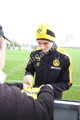 Julian Weigl signiert BVB Borussia Dortmund XXL DFB Deutschland Trikot