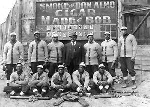 1909-St-Paul-Colored-Gophers-Team-PHOTO-Negro-League-Baseball-Team-Black-Players