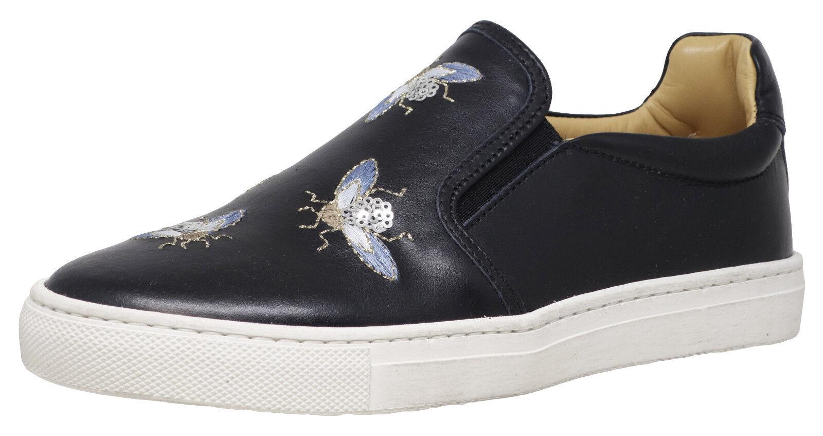 Momino 3623v cuero BAILARINAS SLIPPER zapatos bordados handarb. nuevo