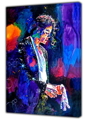 Final performance Michael Jackson photo impression couleur sur encadrée Toile Wall Art