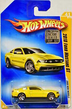 HOT WHEELS 2009 NEW MODELS 2010 FORD MUSTANG GT #41/42 YELLOW FACTORY SEALED