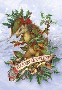 Wicca Christmas.Details About Briar Hedgehog Coat Greetings Pagan Wicca Alternative Card Yule Christmas Yule