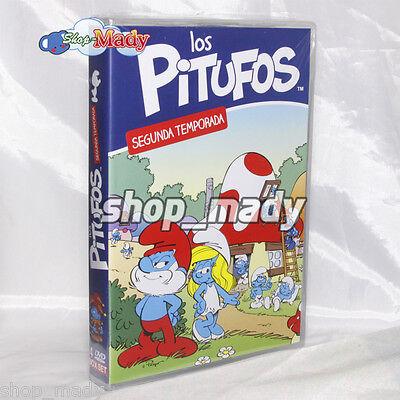 The Smurfs Second Season - Los Pitufos 2da. Temporada en ESPAÑOL LATINO Region 4