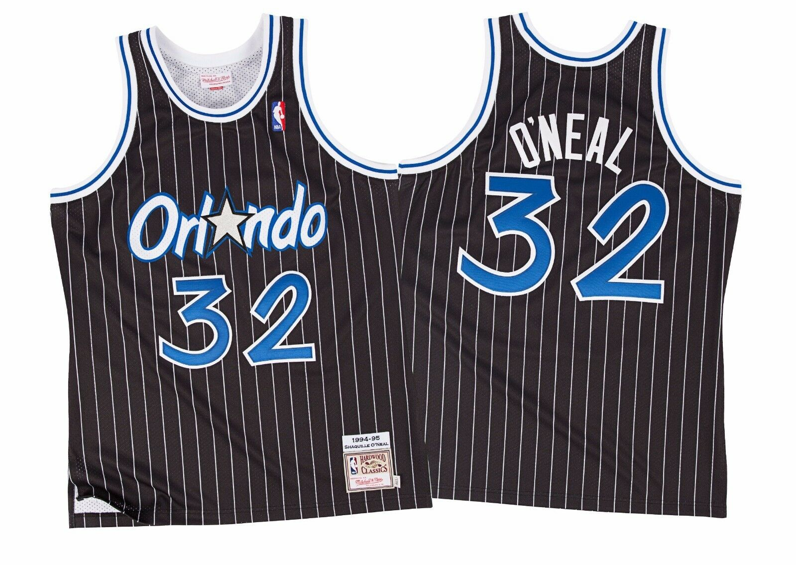 Mitchell & Ness Shaquille O'Neal Orlando Magic AUTHENTIC NBA Jersey