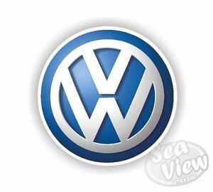 Volkswagen Badge Logo Original Car Van Sticker Decal Funny