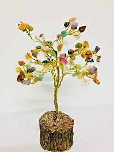 MultiStones-Reiki-Healing-Stones-Tree-Spiritual-Feng-Shui-Table-Decor-Free-ship