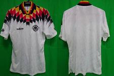 1994-1995 Germany Deutschland DFB Jersey Shirt Trikot Adidas FIFA World Cup L