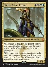 MTG Sidisi, Brood Tyrant Commander Deck EX-NM Magic the Gathering EDH Zombie