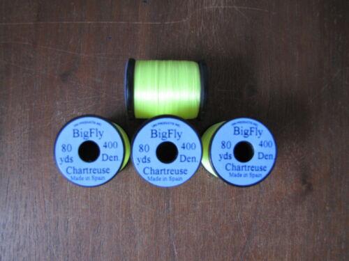 Fly Tying Uni Big Fly Thread 80yds. Chartreuse