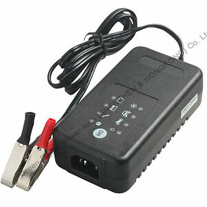 12 Volt Car Battery Charger Motorcycle Charger For 12v 4 90ah Lead