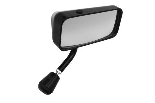 Flat Lens Right Hand Black LIFELINE MSA Formula Car Mirror