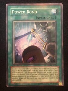 POWER BOND SDCR-EN022 Common Yugioh  NM Card