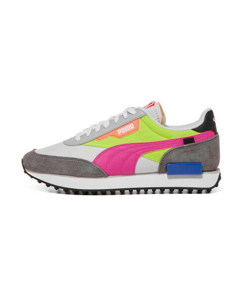 PUMA Future Rider PLAY ON - White Yellow Rock /Sneakers ...