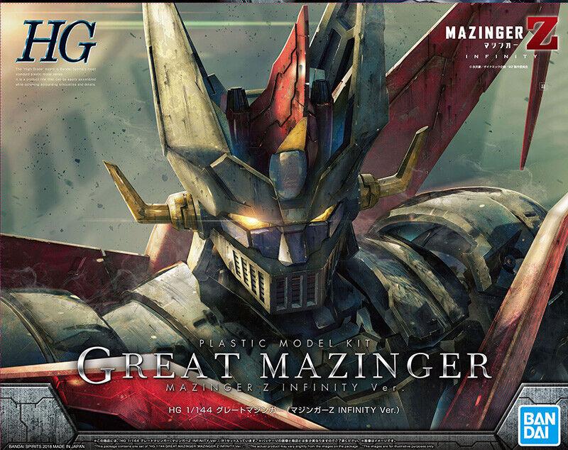 Bandai Model Kit HG High Grade Great Mazinger Infinity NEW