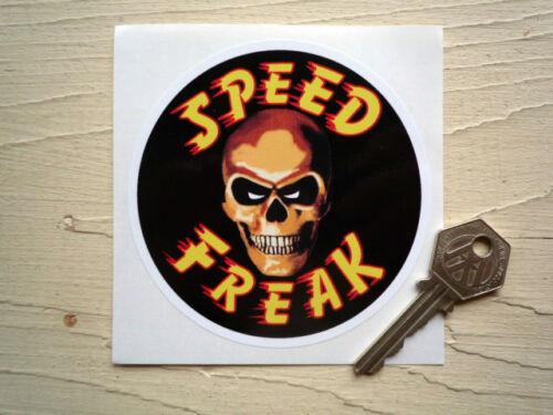 SPEEDFREAK Skull Motorcycle bike drag carRacing sticker