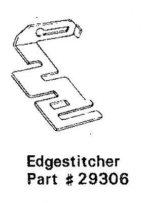 EDGESTITCHER  Part 29306 Sears Kenmore Sewing Machine Attachment FREE SHIP  EBB