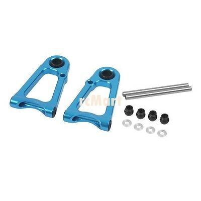 Yeah Racing Alloy Front Upper Arm Set (BU) for Tamiya TT01/ TT01E #TT-125BU