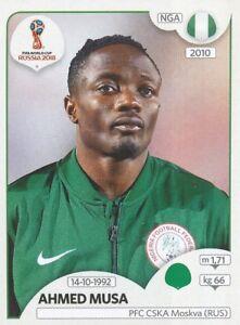 346-AHMED-MUSA-NIGERIA-CSKA-MOSKVA-STICKER-WORLD-CUP-RUSSIA-2018-PANINI