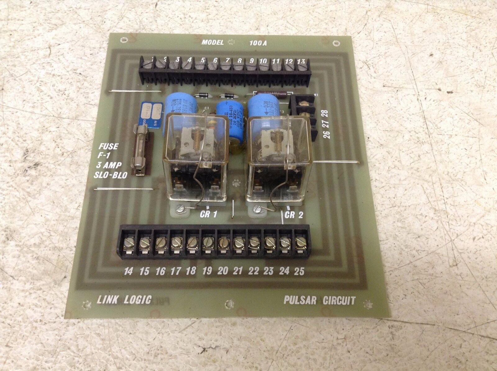 Link Logic 100A Pulsar Circuit PCB Circuit Board (TSC)