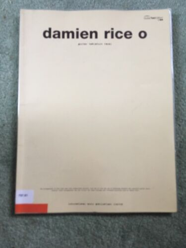 1 of 1 - Damien Rice -  O : (Guitar Tab) by Damien Rice (Paperback, 2005)