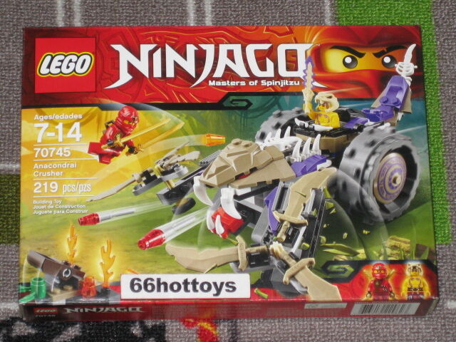 LEGO Ninjago 70745 Anacondrai Anacondrai Anacondrai Crusher NEW e3fe73