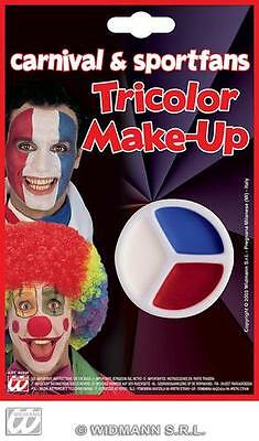 Face Paint Set Makeup - Blue White Red France Team Gb